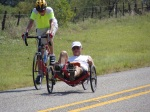 Cycling - Tour de Longneques - Ralph Macfarlane and Thad Sitton - 9/11/2010