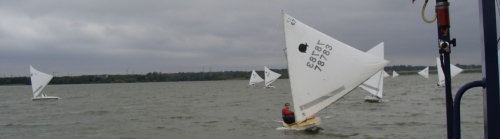 Oktoberfish Sunfish Regatta - Paul Foerster Leads - Sailing