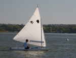 Lake Worth Sailing Club Sunfish Regatta - Winner Doug Peckover
