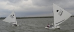 Oktoberfish Sunfish Regatta - Jamey Rabbit and Stewart Draheim  - Sailing