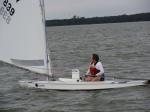 Oktoberfish Sunfish Regatta - Jennifer Crow - Sailing