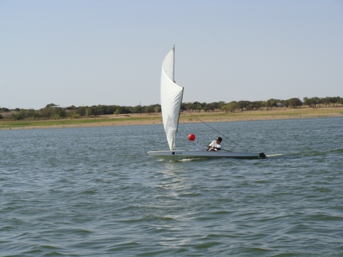 Paul Foerster, Lake Buchanan Sunfish Regatta, 2011