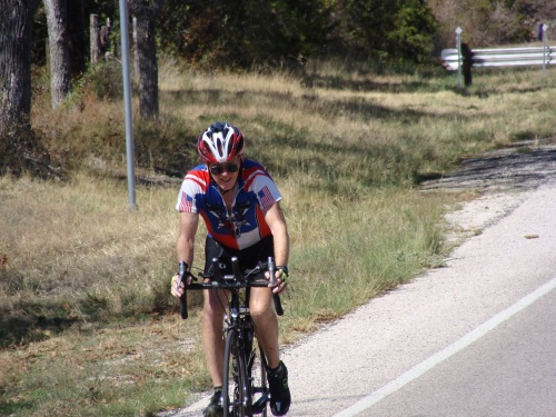 Doug Miller, FM261, TX29 Lake Buchanan, Cycling, Llano County